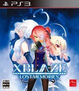 XBlaze Lost Memories (Playstation 3, Japanese Cover)