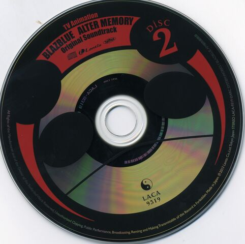 File:TV Animation BLAZBLUE ALTER MEMORY Original Soundtrack (Disc, 2).jpg