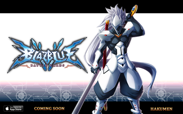 File:BlazBlue Battle Cards (Announcement of Hakumen).png