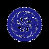 Azure Shrine Maiden (Concept Artwork, 2)