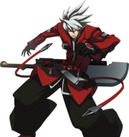 Ragna the Bloodedge (Story Mode Artwork, Pre Battle, 2)