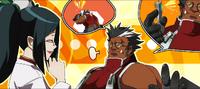 Iron Tager (Calamity Trigger, Arcade Mode Illustration, 2, Type B)