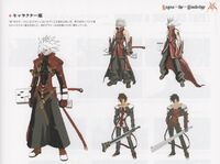 Ragna the Bloodedge (Concept Artwork, 1)