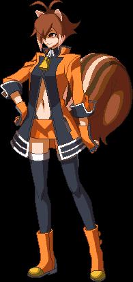 File:Makoto Nanaya (Sprite, New Outfit).png