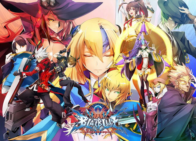 File:BlazBlue Centralfiction (Arcade Poster, Act II).jpg