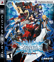 BlazBlue Calamity Trigger (North American Cover)