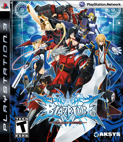 File:BlazBlue Calamity Trigger (North American Cover).png