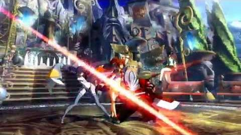BlazBlue Chronophantasma (Announcement of Celica A