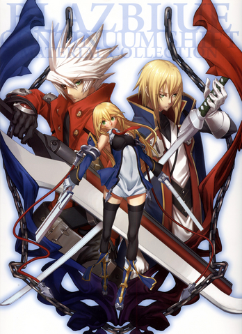 File:BlazBlue Continuum Shift Material Collection (Cover).png