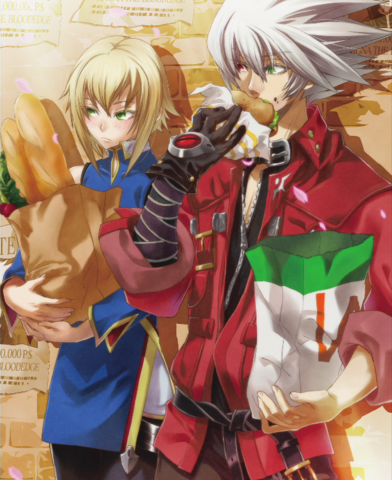 File:BlazBlue Chronophantasma Story Maniacs Material Collection II (Illustration, 42).png