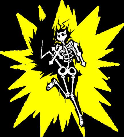 File:Makoto Nanaya (Sprite, electrocuted).png