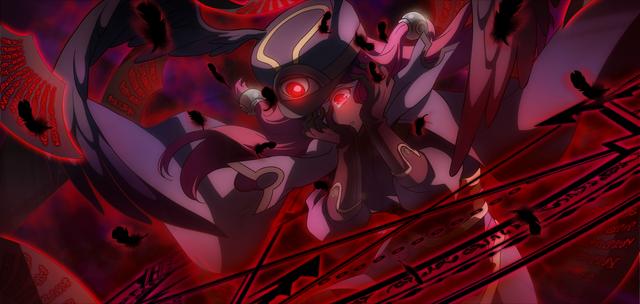 File:Tsubaki Yayoi (Chronophantasma, Arcade Mode Illustration, 2, Type B).png