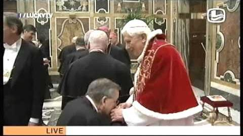 Lucky TV - Afscheid van de paus