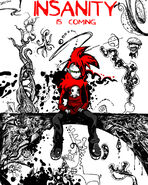INSANITY IS COMING by skull boy666