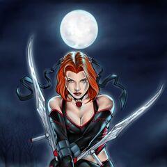 Rayne in the comic book series