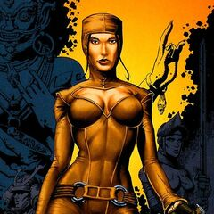 Mynce in the comic book series