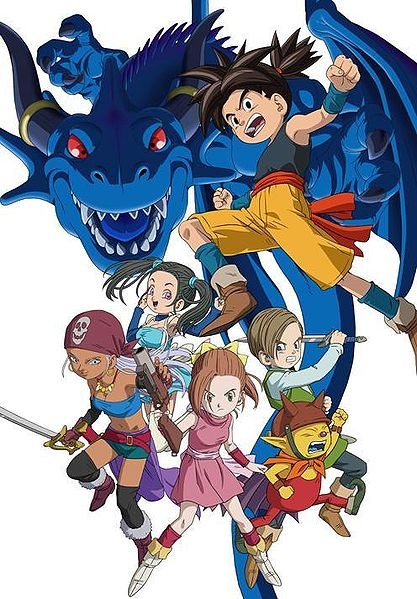 anime with 7 dragons game