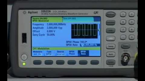 33500 Series Function Arbitrary Waveform Generator Product Overview