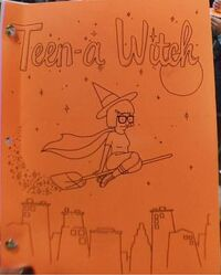 Teen-a Witch Script Cover