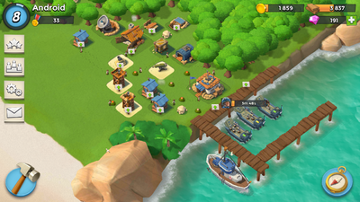Android island