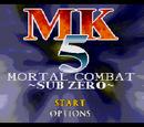 MK5 - Mortal Combat - Sub Zero