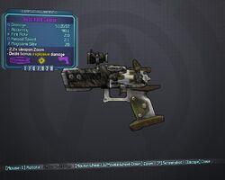 Rock Hand Cannon OP8