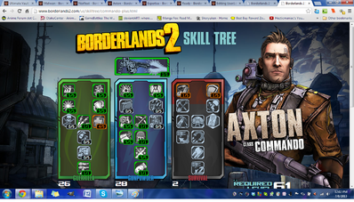 Axton Damage Build