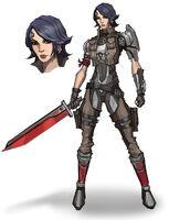 Pre Sequel Athena concept