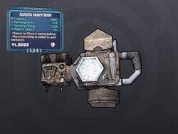 LV 29 Apathetic Absorb Shield