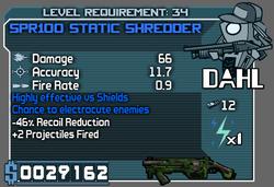SPR100 Static Shredder