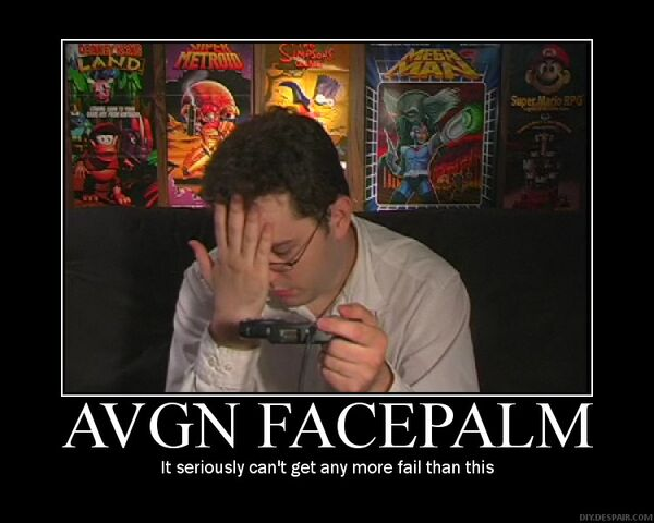 File:AVGN Motivational Poster by xStage.jpg