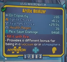 Arctic Oxidizer