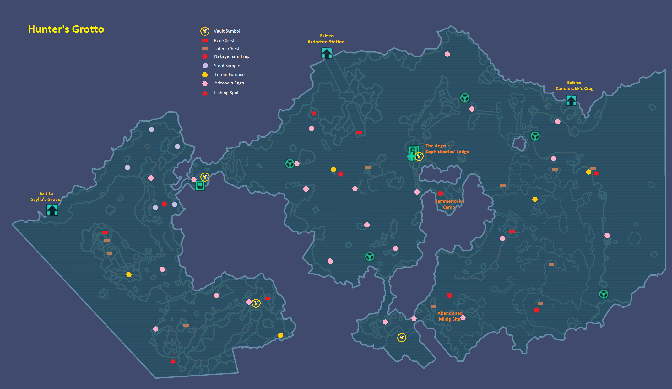 Borderlands 2 Hunters Grotto Map Related Keywords