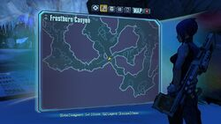 Borderlands2 fire totem 4 map