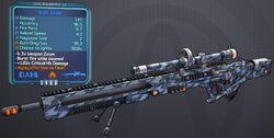Sniper(Borderlands2) Night(5shot) lvl13
