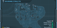 Dividing Faults: Weapon Crate Locations