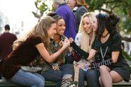 Bratz The Movie Yasmin, Cloe, Jade, and Sasha