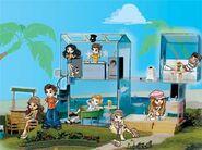 Lil' Bratz Beach Bash Party House with Rinnie
