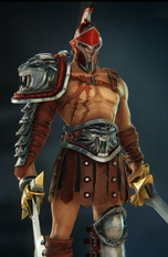 Spartacus red skin