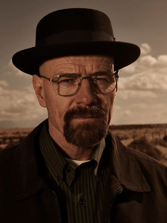 "Walter ""Heisenberg"" White from Breaking Bad"