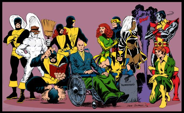 X Men Characters Comic X-Men - Albion British Comics