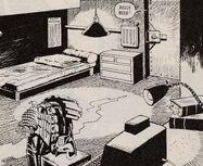 Judge Dredd's apartment