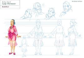 Lady Piermont modelsheet