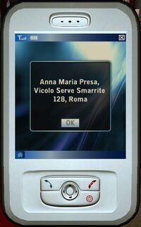 Anna Maria's home address