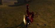 Battle Nun Bloodied
