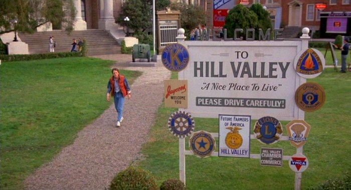 Resultado de imagen para HILL VALLEY