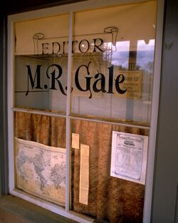 Hill Valley Telegraph - M.R Gale