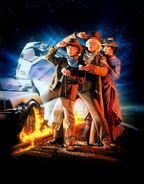 Back to the Future Part III Textless Poster