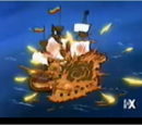 Mac the Black's pirate ship