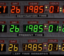 Chronology of Back to the Future